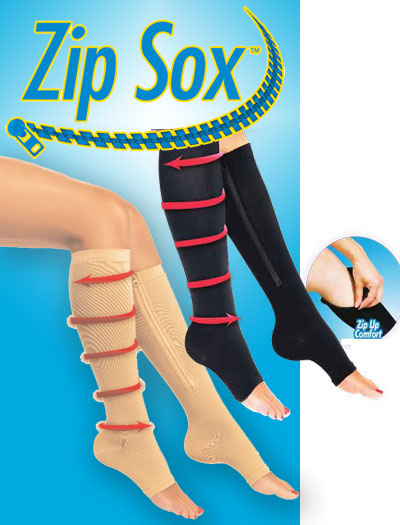 Zip Sox - Pair of Zip Sock