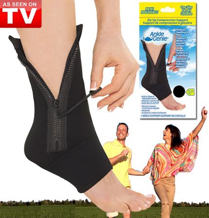 Ankle Genie Compression Sleeve